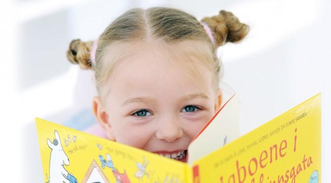 Hvordan lese for 4-åringen?