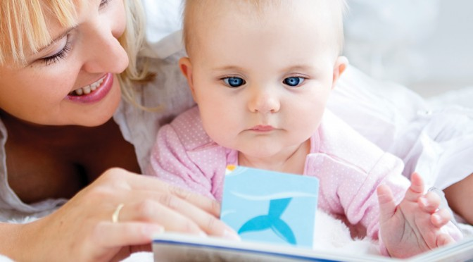 Slik leser du for barn som er 5 måneder