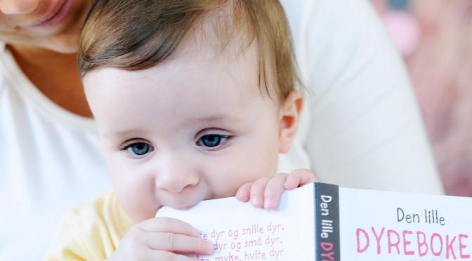 Slik leser du for barn som er 8 måneder