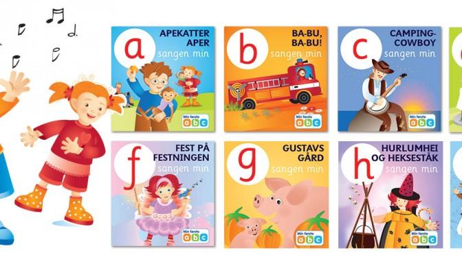 Få 32 alfabetsanger GRATIS i appen vår