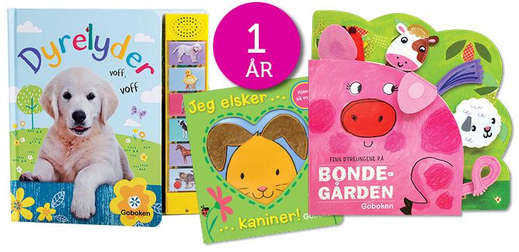 Bøker til 1-åringen