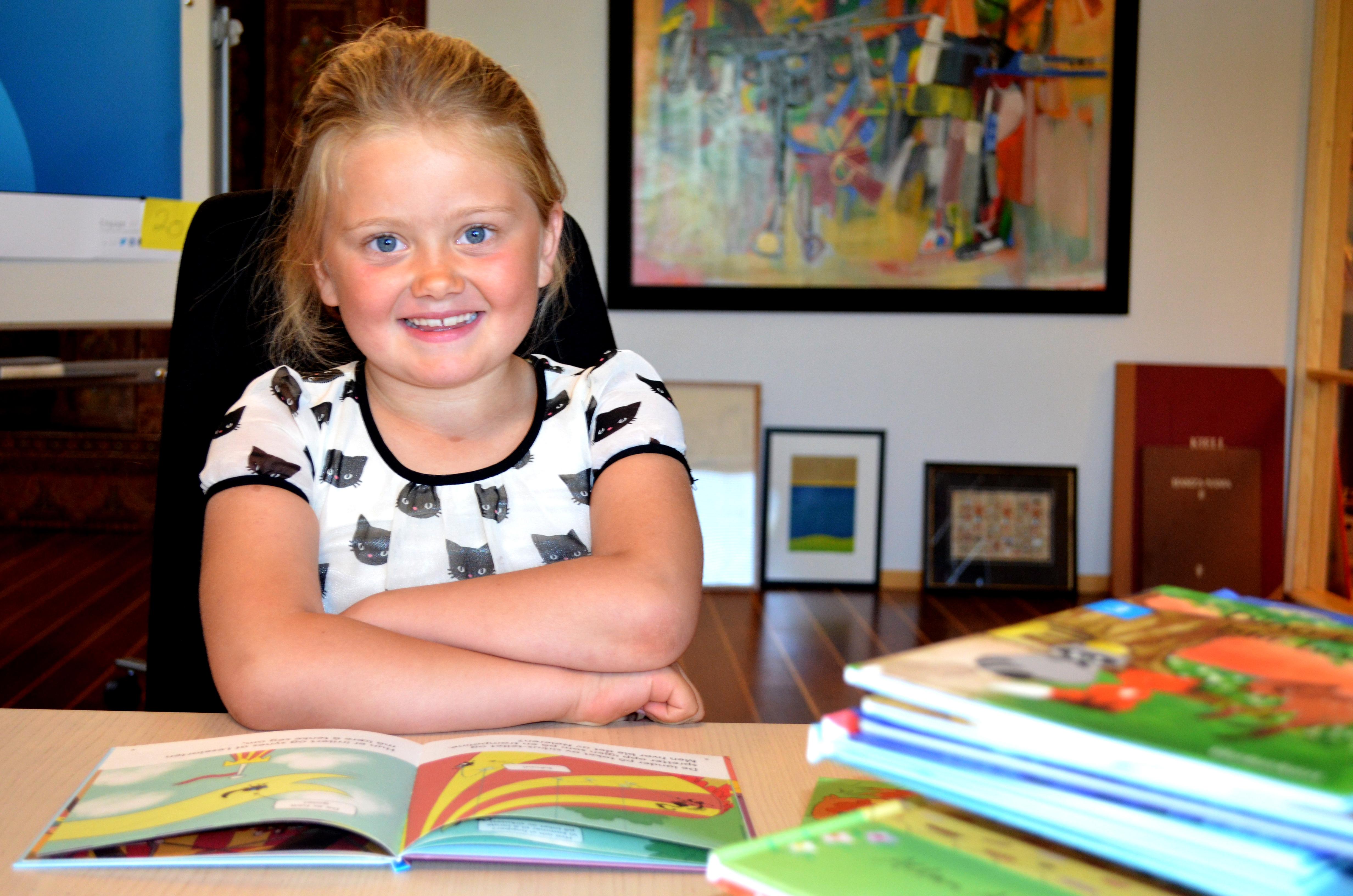 Knekk lesekoden med førsteklasses tips fra førsteklassingen Astrid