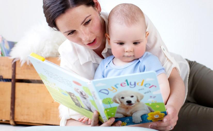 Språkutviklingen hos 10 måneder gamle barn