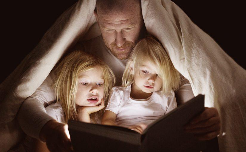 En lesestund om kvelden gir resultater for livet