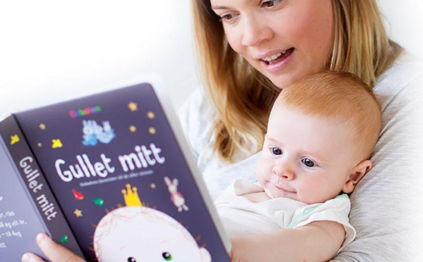 Gullet mitt – en skattkiste av en bok til babyen