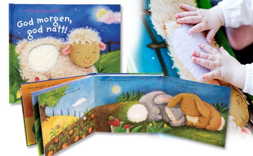 God morgen, god natt – perfekt barnebok til leggetid
