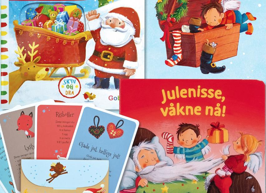 Her er årets julebøker fra Goboken