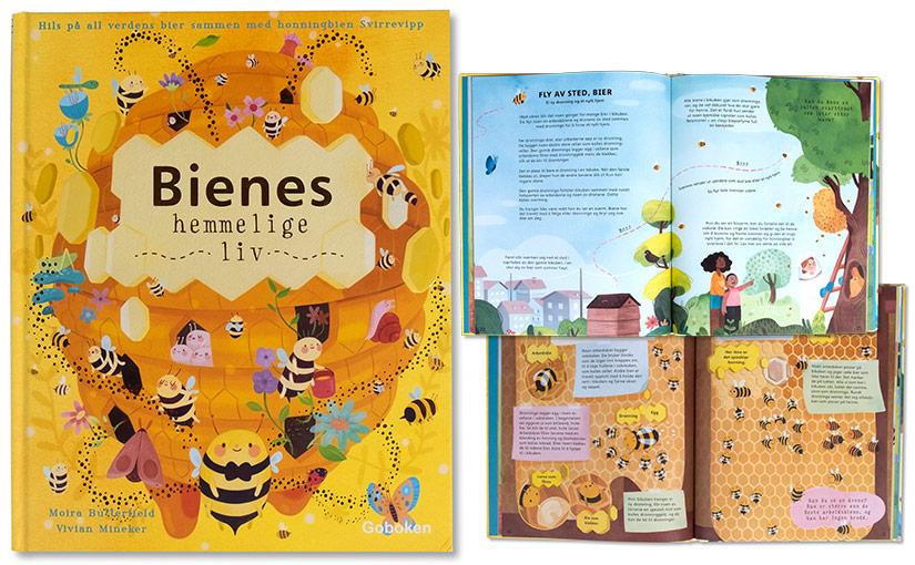 Bienes hemmelige liv – fine fakta for småfolk
