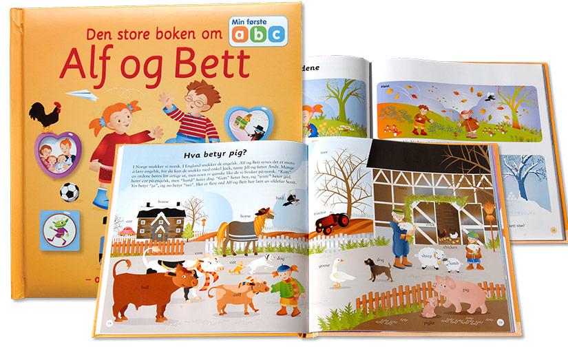 Den store boken om Alf, Bett og Bokstavtoget