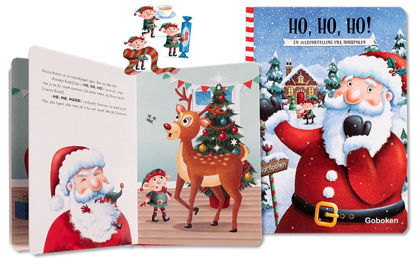 Ho, ho, ho! En julefortelling fra Nordpolen